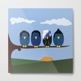 Marianas Trench o' Birds Metal Print