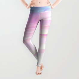 Summer seaside beach Leggings