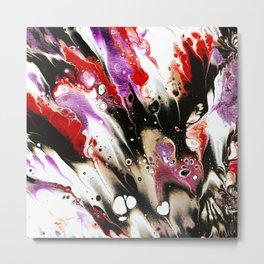 Metamorphosis Of Color Metal Print