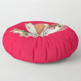 Alpaca Sushi Niguiri Floor Pillow