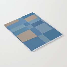 Palm Springs Blue Notebook