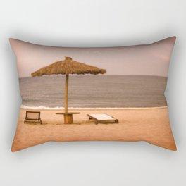 Beach front property Rectangular Pillow