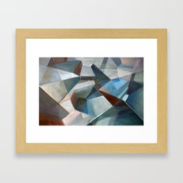 Spacial Abstraction II Framed Art Print