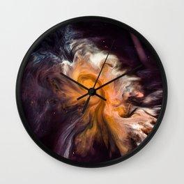 Coffee Abstract Art Wall Clock