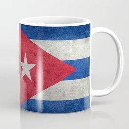 Flag of Cuba - vintage retro version Coffee Mug