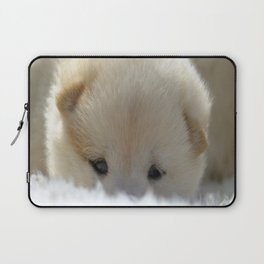 Shiba Inu Puppy Laptop Sleeve