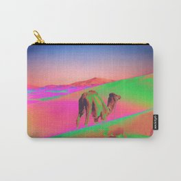 Psychedelic Sand Dunes 2 - Rainbow Carry-All Pouch