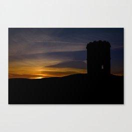 Solomon's temple sunset Canvas Print