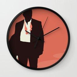 Minimalist Bond: Casino Royale Wall Clock