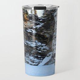 Lower Athabasca Falls, Canada Travel Mug