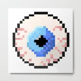 Eyeball Metal Print
