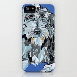 Irish Wolfhound Dog Portrait iPhone Case