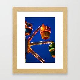 Carnival Buckets Framed Art Print