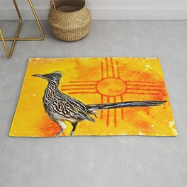 New Mexico Roadrunner's Zia Rug