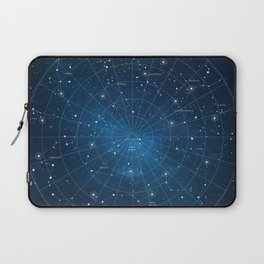 Constellation Star Map Laptop Sleeve