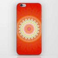 health iPhone & iPod Skins featuring Mandala Health by Christine baessler