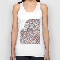 ape Tank Tops featuring Ape by Guillem Bosch