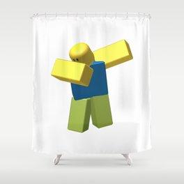 Roblox Dab Shower Curtain