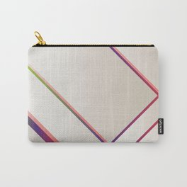 Rainbow Grids Carry-All Pouch