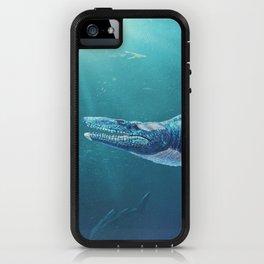 Tylosaurus Pembinensis Restored iPhone Case