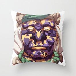 Blind Wanderer Throw Pillow