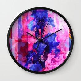 Cosmic seedling Wall Clock