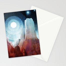 A rocky world Stationery Cards