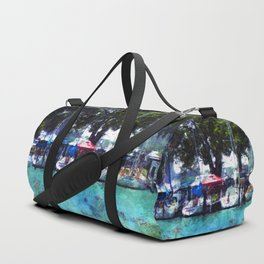 Sailboats At Detroit Yacht Club Duffle Bag