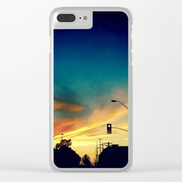 Silhouettes in the Sun Light Clear iPhone Case