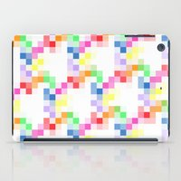 pixel iPad Cases featuring Pixel by AJJ ▲ Angela Jane Johnston