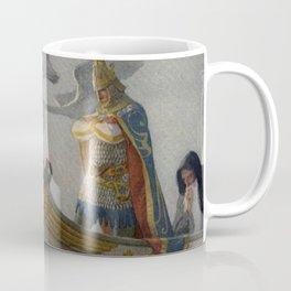 King Arthur and Excalibur Coffee Mug