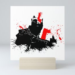 Kratos - God of War Mini Art Print