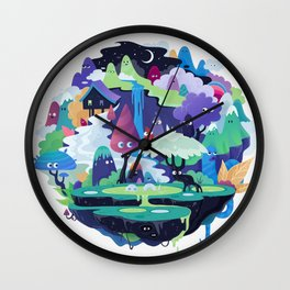 little buddies Wall Clock