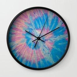 Tie Dye 012 Wall Clock