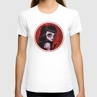 tina fey T-shirts featuring 7-Tina by Dienzo Art