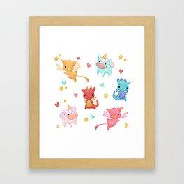 Mythical Creatures Framed Art Print