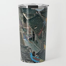 Bird Town Travel Mug