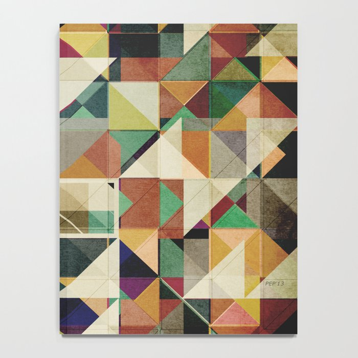 Earth Tones Abstract Notebook