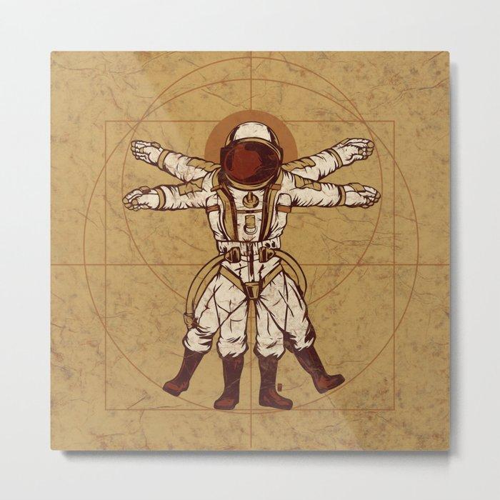Anatomy Of Exploration Metal Print