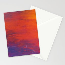 To Add Colour to My Sunset Sky Stationery Cards