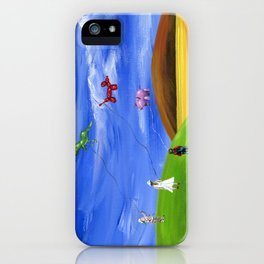 Hilly Helium iPhone Case