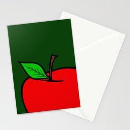 Manzana roja Stationery Cards