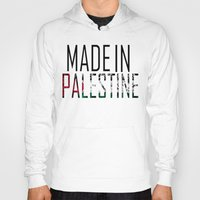 palestine Hoodies featuring Made In Palestine by VirgoSpice