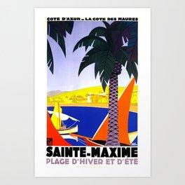 Sainte Maxime  Art Print