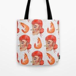 Prawn Lady Tote Bag