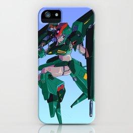 Ms. Gaplant Gundam Girl iPhone Case