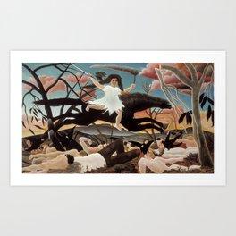 War by Henri Rousseau, 1894 Art Print