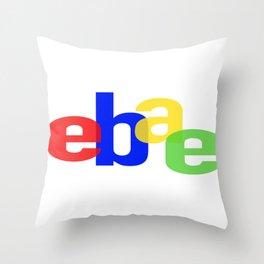 Ebae Throw Pillow