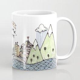 We Belong in Portland Coffee Mug