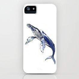 Humpback Whale, whale sea world desocr whale home decor florida beach iPhone Case